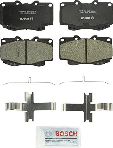 (Bosch BC799 QuietCast Premium Ceramic Front Disc Brake Pad Set)