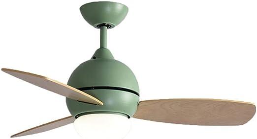 Lámparas de araña Lámpara De Techo para Ventilador Sala De Estar Luz De Ventilador LED De Techo Control Remoto De La Habitación De Los Niños Ventilador Habitación Lámpara De Ventilador: Amazon.es: Hogar