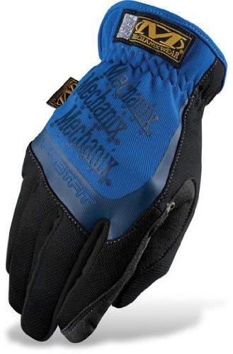 Mechanix Wear Fast Fit Gloves , Distinct Name: Blue, Size: XL, Primary Color: Blue, Gender: Mens/Unisex (Fast Fit Gloves)