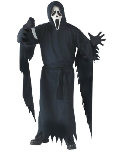 [Collector's Edition Ghost Face Costume - Standard - Chest Size 33-45] (Ghost Face Collectors Edition Adult Costumes)