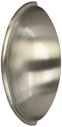 "Amerock BP53019-G10-10PK, 2-1/2"" Cabinet Hardware Cup Pull, Brushed Satin Nickel, 10-Pack"