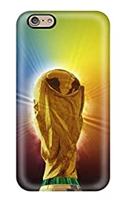 Tpu ZippyDoritEduard Shockproof Scratcheproof Fifa World Cup 2014 High Definition Hard Case Cover For Iphone 6(3D PC Soft Case)
