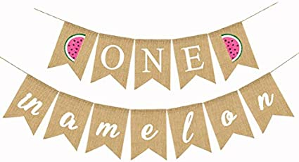 watermelon party decorations Watermelon custom name banner sign watermelon birthday banner name banner watermelon birthday decorations