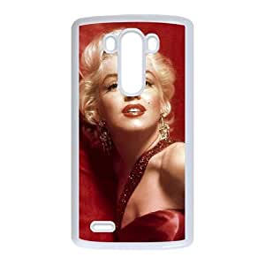 LG G3 Cell Phone Case White Marilyn Monroe REF Ballistic Phone Covers