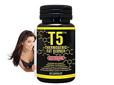 Slimming Diet Pills Weight Loss T5 Fat Burner Capsules 100% Slim Strongest Legal