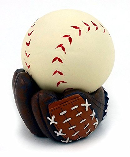 Baseball Glove Holder (Baseball Stress Ball with Baseball Glove Stand)