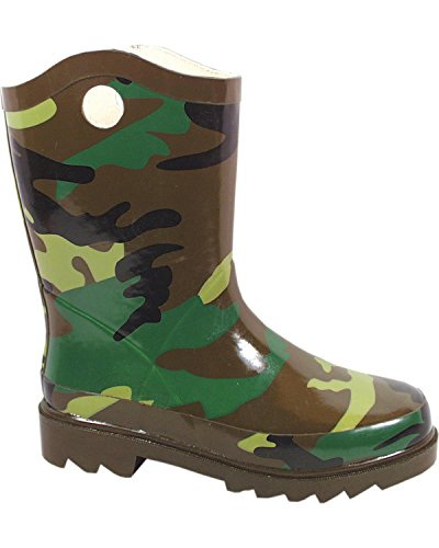 Smoky Mountain Childs Camo Rubber Boot 9