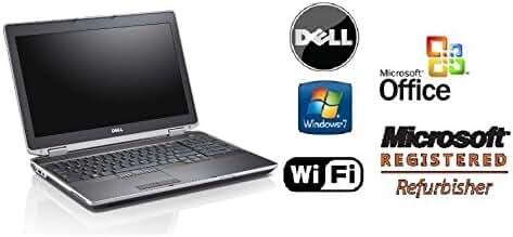 Sleek Dell E6520 Laptop PC - Super Fast Intel Core i5 2.5GHz / 8GB RAM /