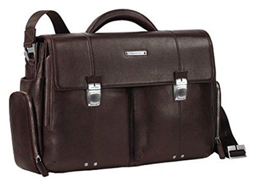 Piquadro Laptoptasche mit 2 Taschen braun Jazz CA1044W17/M