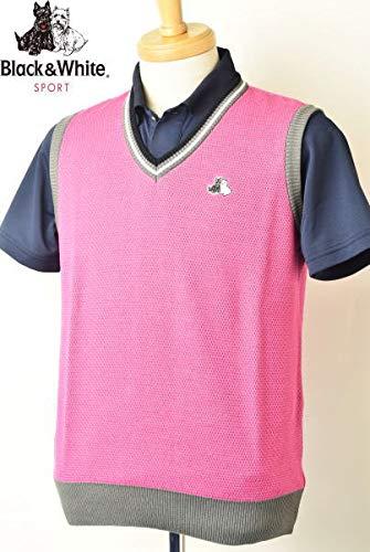 安い購入 [ブラック&ホワイト] Vネックニットベスト トップス メンズ ゴルフ メンズ M トップス M ピンク(41) B07Q6C95WZ, SWEETBABY:23d9fbdc --- mailgw.beyonddefeat.com