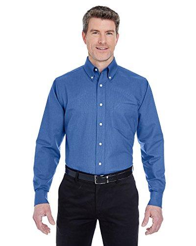 Long Sleeve Wrinkle Resistant Oxford - 7