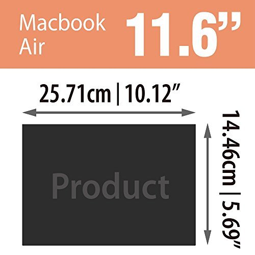 SenseAGE Anti-Blue Light Privacy Screen Protectors Filter for Apple Macbook Air 11.6'' Retina Display by SenseAGE (Image #3)