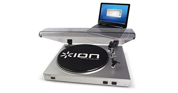 Amazon.com: Ion iTTUSB05 USB Turntable with Extra Connector ...