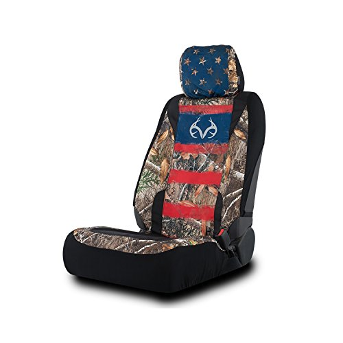 Realtree Lowback Seat Cover, Original Fit, Realtree Edge Americana