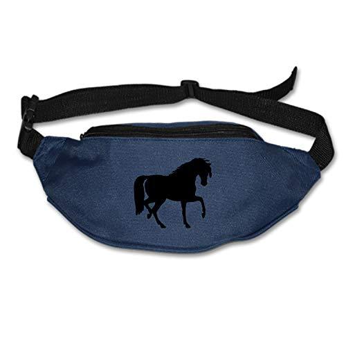 Elvira Jasper Lightweight Waist Bag Jog Trot Horse Riding Fanny Pack/Bum Bag Adjustable Belt Strap Runner, Cyclist, Outdoor Sports]()