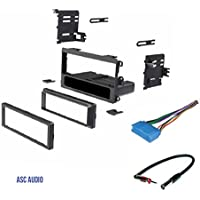 ASC Car Stereo Dash Kit, Wire Harness, Antenna Adapter for some Buick 97-03 Century,95-1999 LeSabre, 1995-2004 Park Avenue, 1995-2003 Regal, 1996-1999 Riviera, 1995-1996 Roadmaster, 1996-1998 Skylark