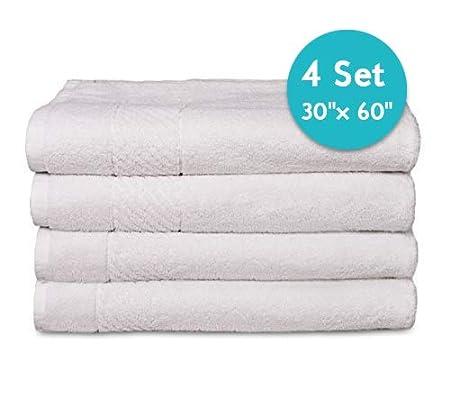 Scrafts - Juego de Toallas de baño, 100% algodón, para Hotel y SPA ...