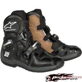 Alpinestars Tech 2 Boots , Distinct Name: Black, Size: 11, Gender: Mens/Unisex, Primary Color: Black 2018071011