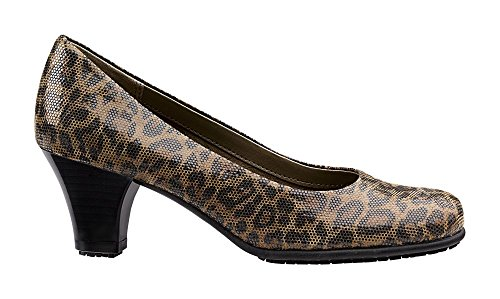 Aerosoles SureGrip Womens Red Hot Leopard Heel Leopard YFTpCD