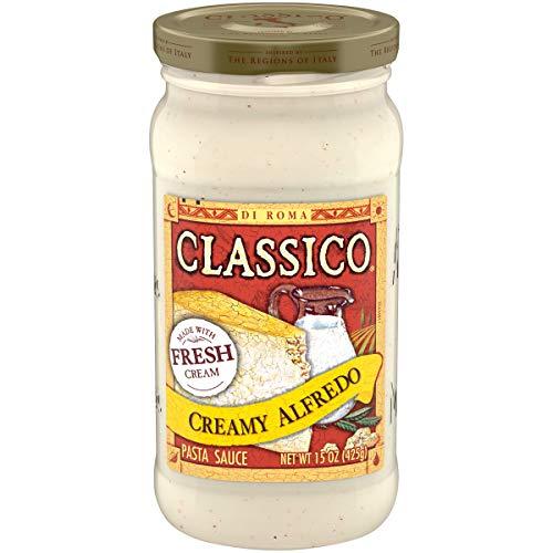 Classico Creamy Alfredo Pasta Sauce (15 oz Jar)