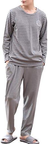 [スポンサー プロダクト]Superora(スーパーオラ)パジャマ メンズ 綿100% 上下セット ルームウェア 部屋着 春秋冬用 ポケット付き 長袖 おしゃれ