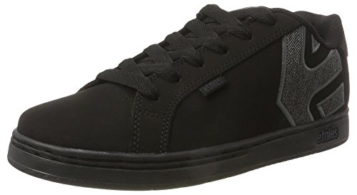Etnies FADER Herren Skateboardschuhe Black (Black/Heather)