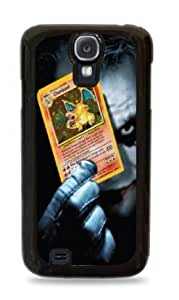 Joker Holding Charizard Pokemon Card iPhone 6 (4.7) Silicone Case- Black - 629