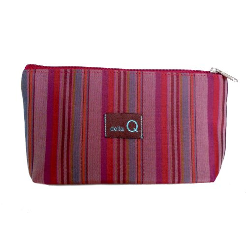 della Q Tagalong Knitting Case for Interchangeable Knitting Needle Case; 004 Red Stripes 1104-1-004 by della Q
