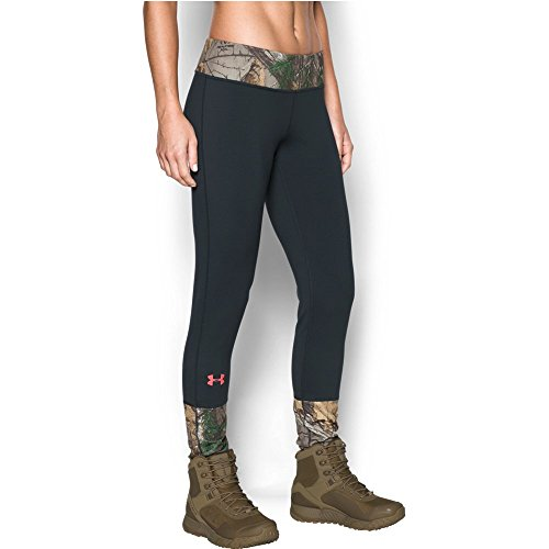 Under Armour Women's Tevo Leggings, Realtree Ap-Xtra/Anthracite, X-Large