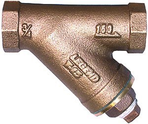 1/2''NPT Bronze Threaded Ends T-15 Series Y-Strainer by LEGEND VALVE
