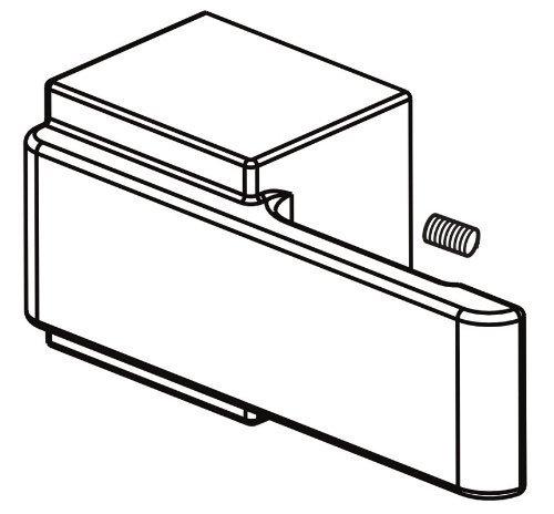 Delta Faucet H786 Arzo, Single Metal Lever Handle Kit for 14 Series, Chrome by Delta Faucet (Arzo Series Single Handle)