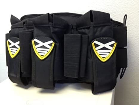 Amazon.com : Paintball Belt XSV Professional Harness with 3 Pack for