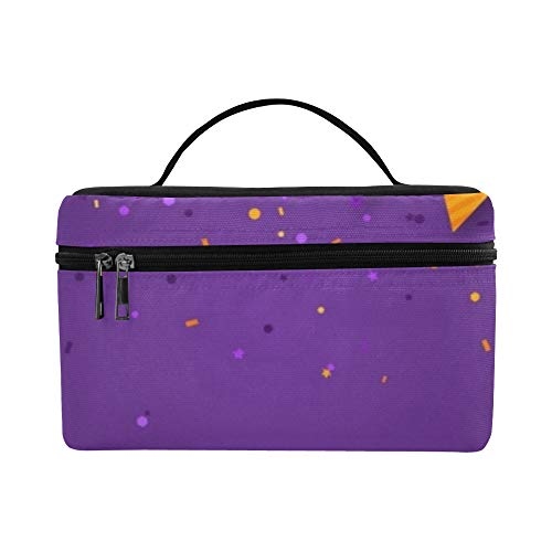 Halloween Carnival Flags Garlands Serpentine Lunch Box Tote Bag Lunch Holder Insulated Lunch Cooler Bag For -