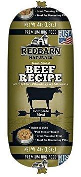 (Red Barn Beef Dog Food Roll 4Lb)
