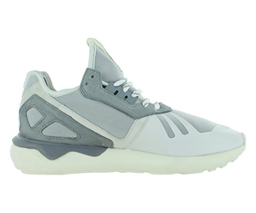 Adidas tubular Runner (7.5, gris / azul marino-blanco) Vintage White/Clear Onyx