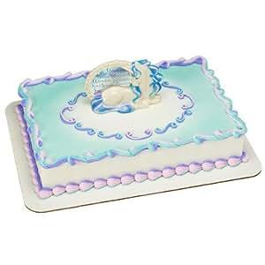 Enchanted Unicorn Cake Topper Decorating Kit Amazon Com