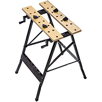 Portable Work Bench Folding Work Table Tool Workshop