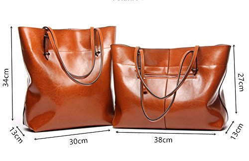 Large Bag Top Women Shopping Ladies Big White Tote Shoulder Leather Handle Handbags twzOx1YIq