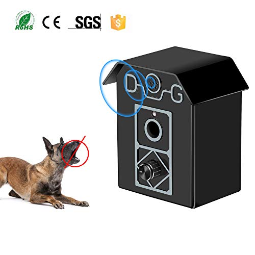 - Gshine Sonic Bark Control Outdoor Bark Controller, Dog Anti Barking Device Stop Barking Dogs Silencer Bark Breaker (Anti Barking Device)