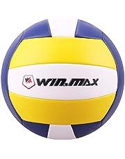 WIN.MAX Beachvolleyball,Volleyball,Beach und Funball Größe 5 Weicher Ballkontakt