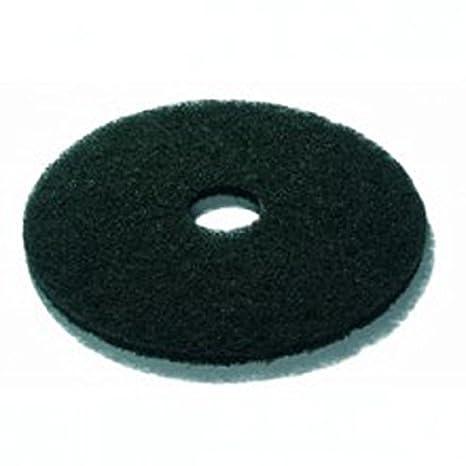 Black 3M HG117-BK Non-Woven Nylon//Polyester Fiber Stripping Floor Pads 17 43 cm