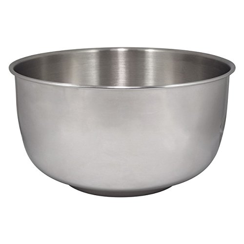 Bowl Steel Stainless Replacement (Replacement Large Stainless Steel Bowl fits Sunbeam & Oster Mixers)