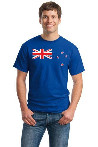 NEW ZEALAND FLAG Unisex T-shirt / Kiwi, New Zealander Auckland, Wellington Tee