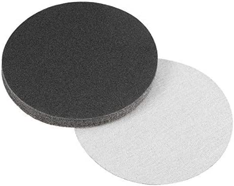 5-inch dry and wet sanding discs 120-hook sanding disc and loops of silicon carbide sandpaper 10 pieces