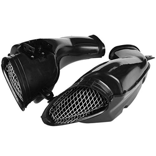 TOOGOO Air Intake Tube Duct Vent Cover Fairing for GSXR600 750 K1 2001-2003: