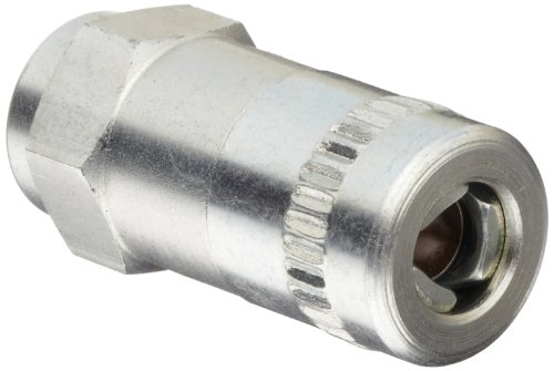 "Alemite 6304-B Hydraulic Coupler, Standard Type, 1/8"" Female NPTF"