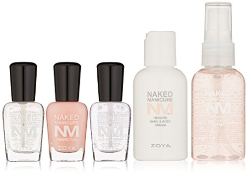 Natural French Manicure - Zoya Naked Manicure Hydrate & Heal Kit