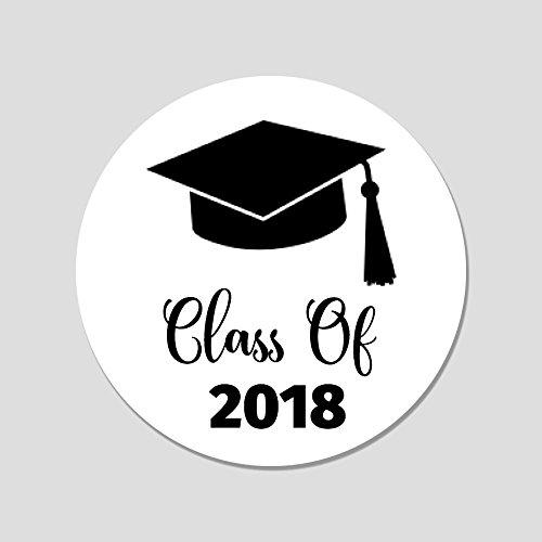 40 Class of 2018 Envelope Seals - Graduation Announcement Seals - Graduation Party Favor (Graduation Sticker Seals)