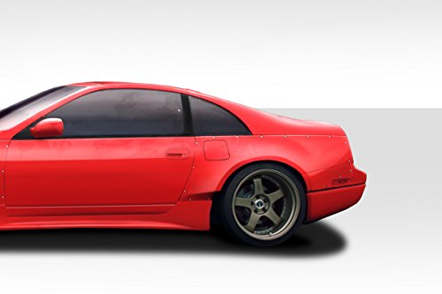 Nissan 300zx Coupe - Duraflex Replacement for 1990-1996 Nissan 300ZX Z32 2dr Coupe PM-Z Rear Fender Flares - 5 Piece