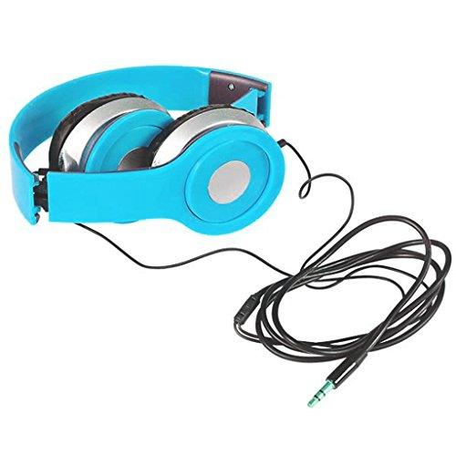 6 7 Neon Blue Headphones Order